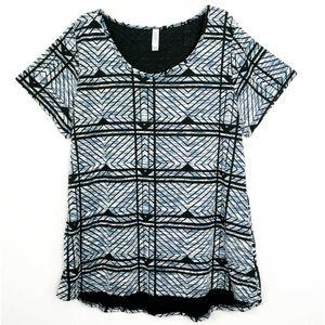 LulaRoe Geometric Perfect T Short Sleeve Tshirt